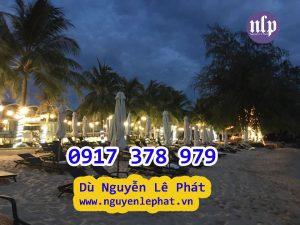 Bán Dù Che Nắng Lệch Tâm Resort Nhà Hàng Khu Du Lịch Bãi Biển Sang Trọng - Dù Che Nắng Đẹp Phú Quốc