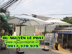 Bán Dù Lệch Tâm Che Nắng Mưa ngoài Trời giá rẻ - Dù Nguyễn Lê Phát