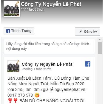 Dù Che Nắng Nguyễn Lê Phát Giá Rẻ nhất thị trường dù lệch tâm