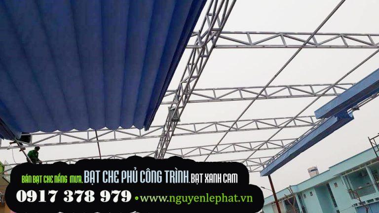 Thi Công Lắp Đặt Mái Hiên Di Động, Mái Xếp Lượn Sóng ở Hà Nội