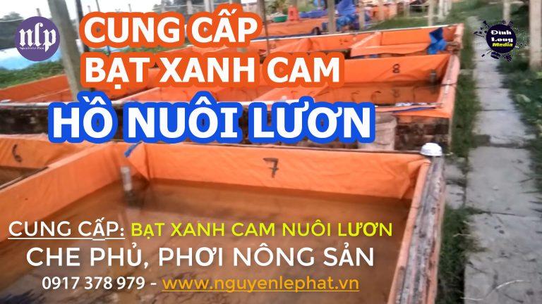 Bạt Xanh Cam Khổ 6M Che Phủ Công Trình Đồng Tháp, Bạt Xanh Cam Lót Hồ Nuôi Tôm Tiền Giang