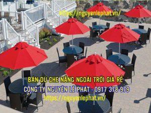 Dù Che Quán Cafe Thủ Dầu Bến Cát Bình Dương - Dù Đẹp Xinh chất lượng cao