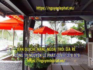Dù Che Mưa Quán Cafe tại Đà Nẵng