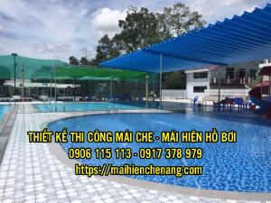 Bảng Giá Lắp Đặt Mái Hiên Di Nắng Mưa Quán Nhậu, Quán cafe Hồ Bơi Giá Bao Nhiêu 1m2